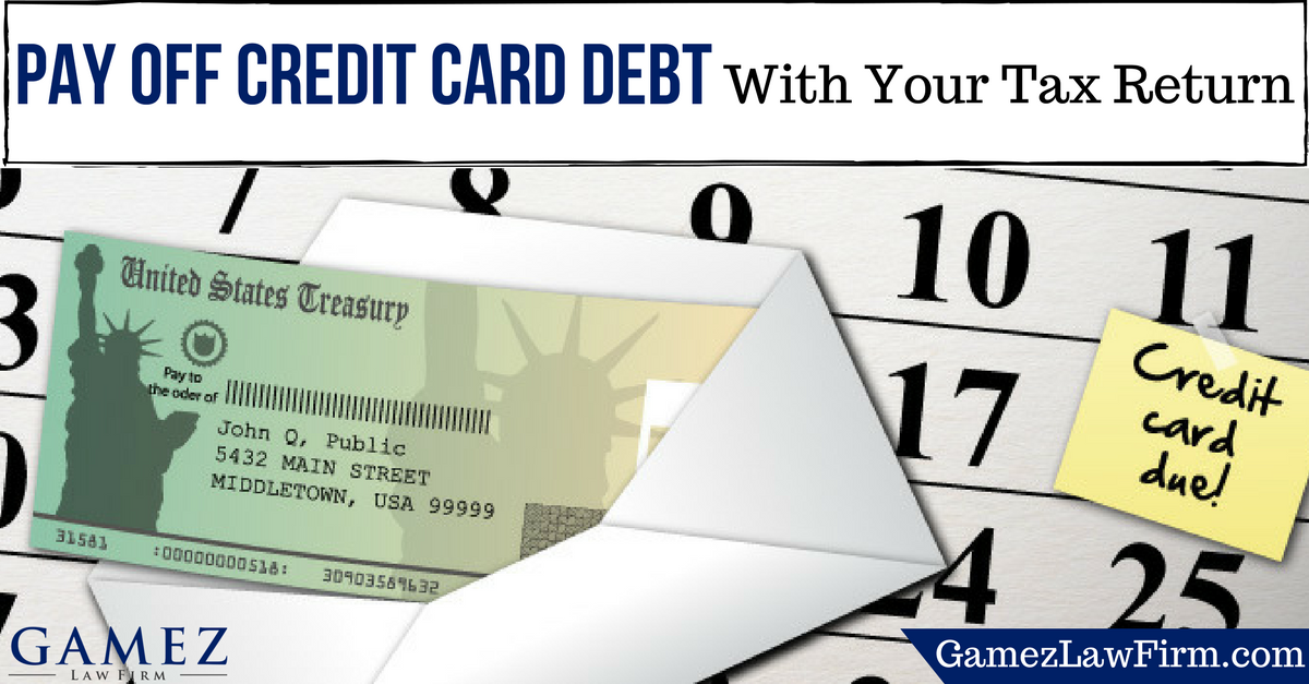 how to pay off your credit card