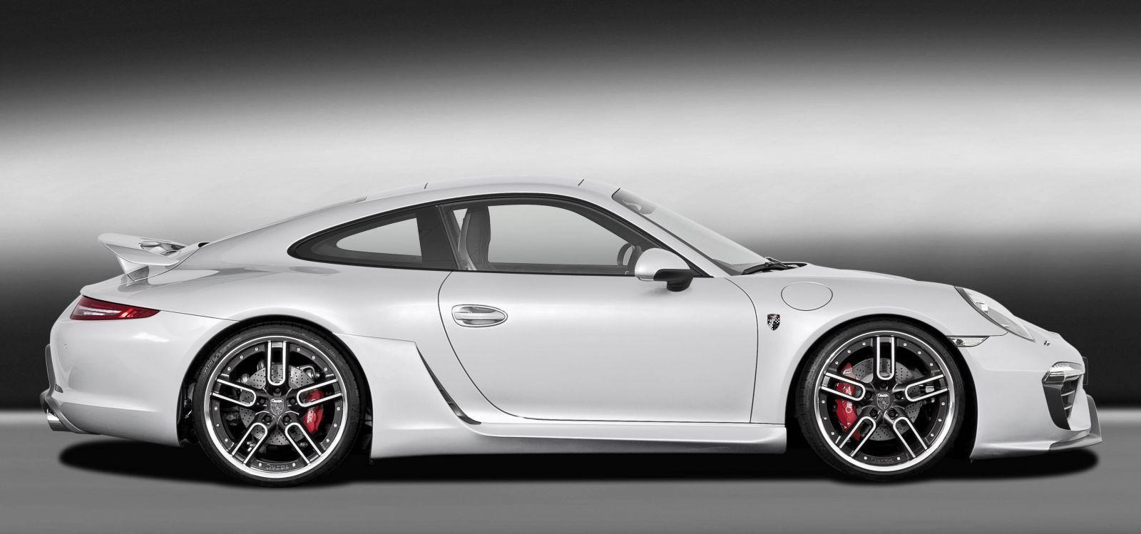 caractere exclusive present porsche 911 kit at 2012 sema photo - 911 Porsche 2015 White