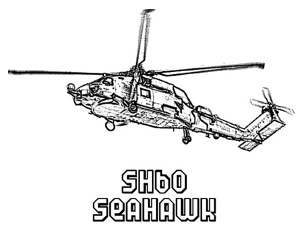 Helicopter Seahawk Sh 60 Coloring Pages Coloring Sun Coloring Pages Color Helicopter