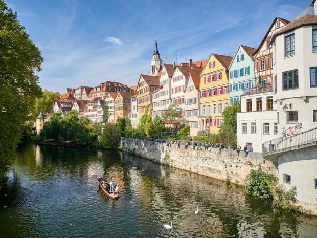Deutschland Die schönsten Städte am Wasser Schöne