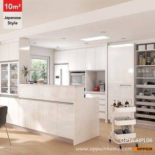 Op16 Hpl06 10 Square Meters Japanese Style Galley Kitchen Design Galley Kitchen Design Kitchen Design Galley Kitchen