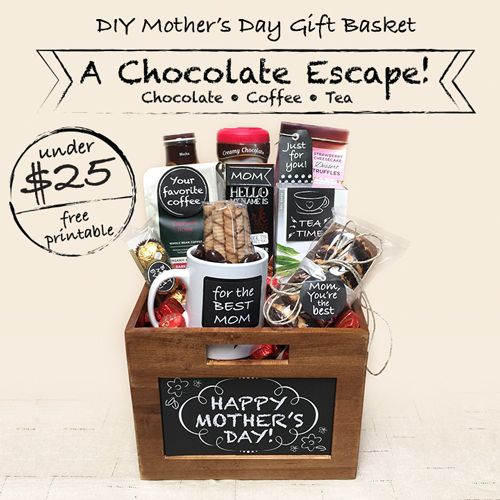 Diy Mother S Day Gift Basket Ideas Under 25 With Images Diy