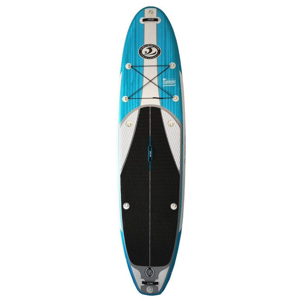 California Board Company Current 11 Crossover Stand Up Paddleboards Package With Seat Paddle Boarding Standup Paddle Inflatable Paddle Board