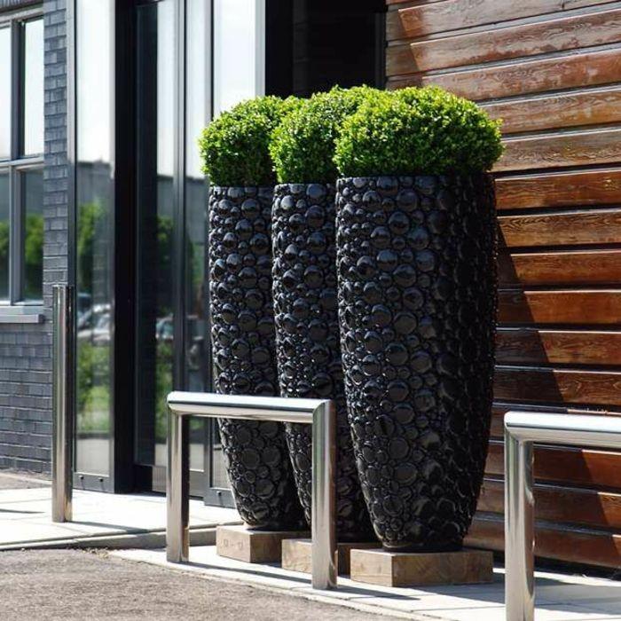 Jardineras Modernas. Elegant Macetas Grandes Decoracin Moderna ...
