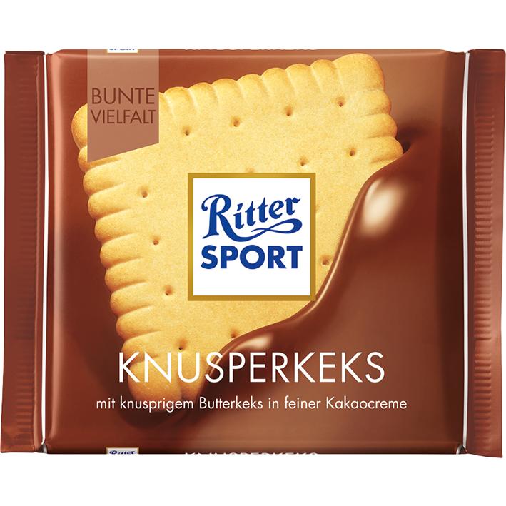 Ritter Sport Knusperkeks (Butter Biscuit) Economy Candy