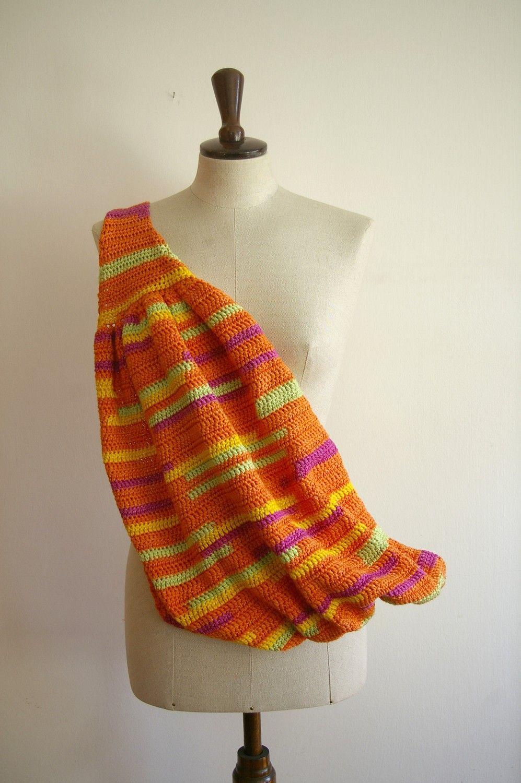 Crochet baby sling | Babiesss ;* | Pinterest | Porta bebés, Para ...