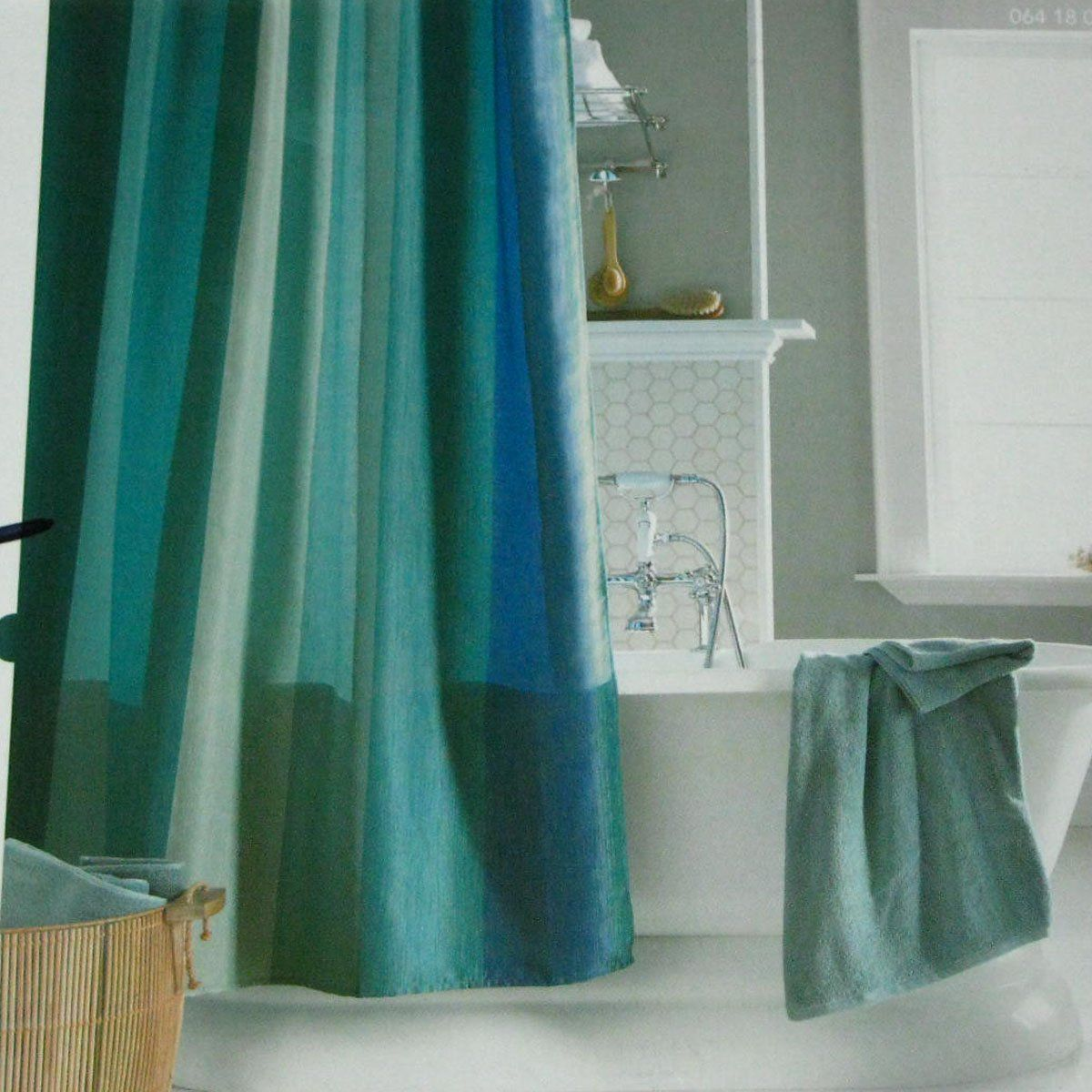 Pin By Flo Jaworski On Decor Ideas With Images Green Shower Curtains Blue Shower Curtains Fabric Shower Curtains