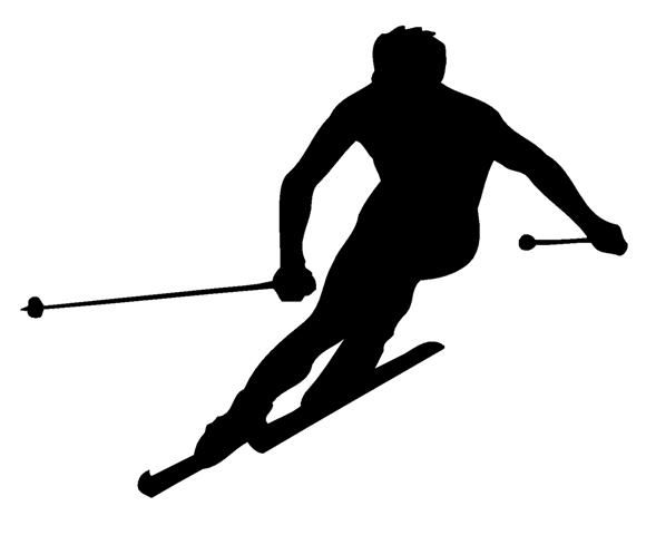 Silhouettes Of Skiiers And Snowboarders Google Search