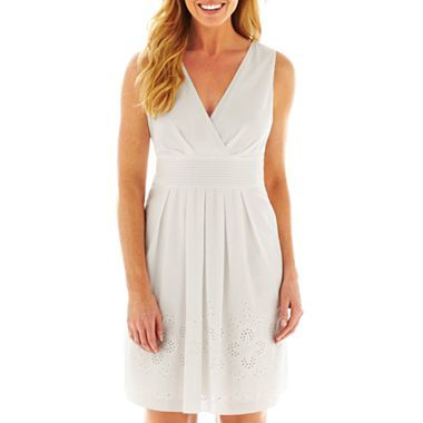 d1ec9a72eea Corey Paige Sleeveless Embroidered Dress - jcpenney