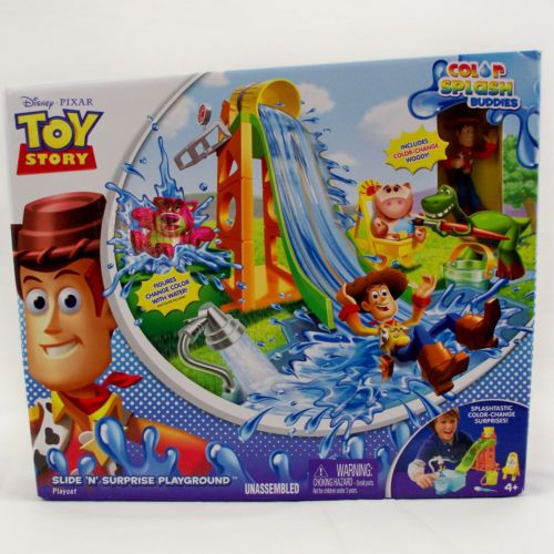 Toy Story Playground : Disney pixar toy story slide n surprise playground color
