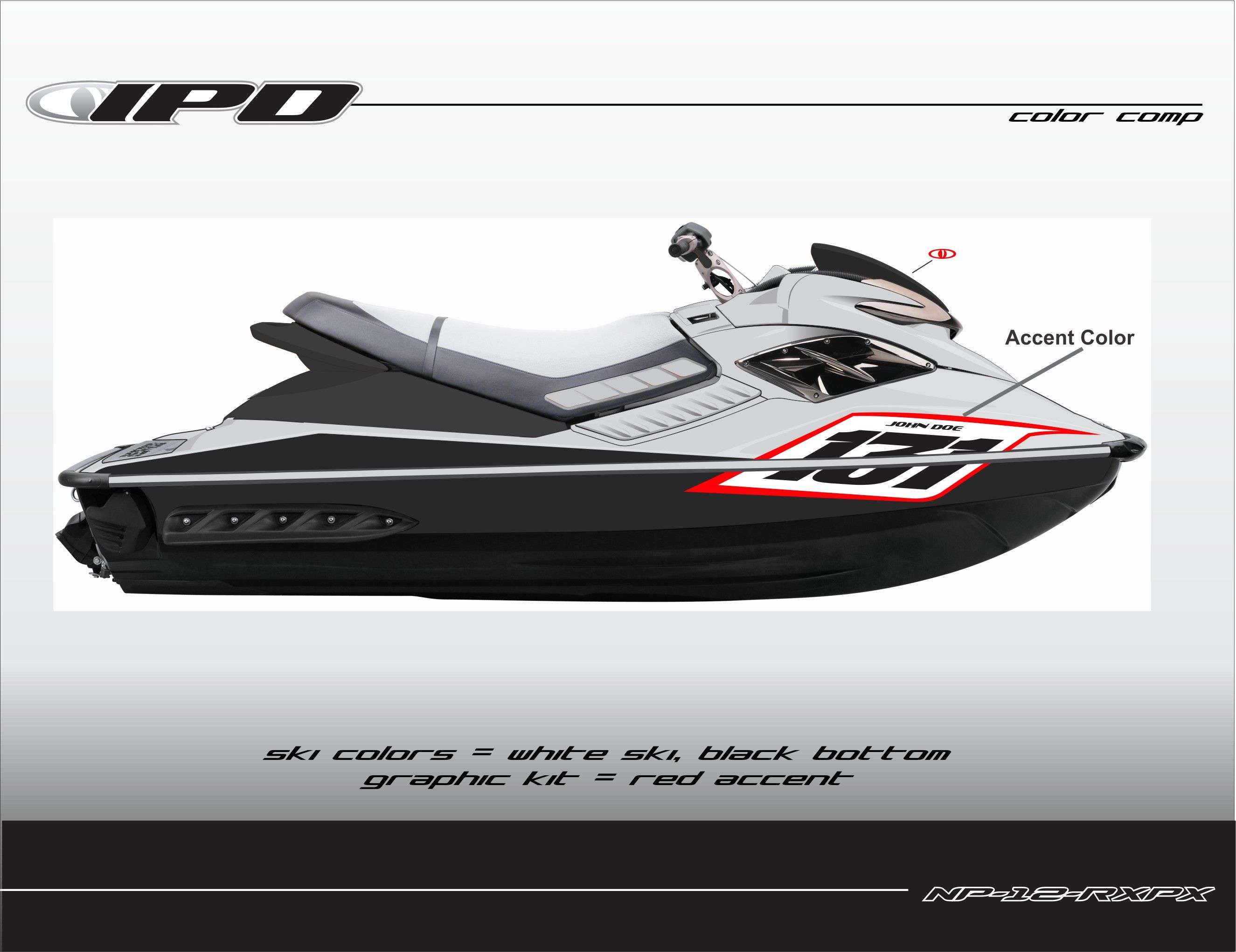 Sea Doo Gen 1 Rx Rxp Rxp X Number Plate Kit Competition Design Ipd Jet Ski Graphics Number Plate Graphic Kit Seadoo