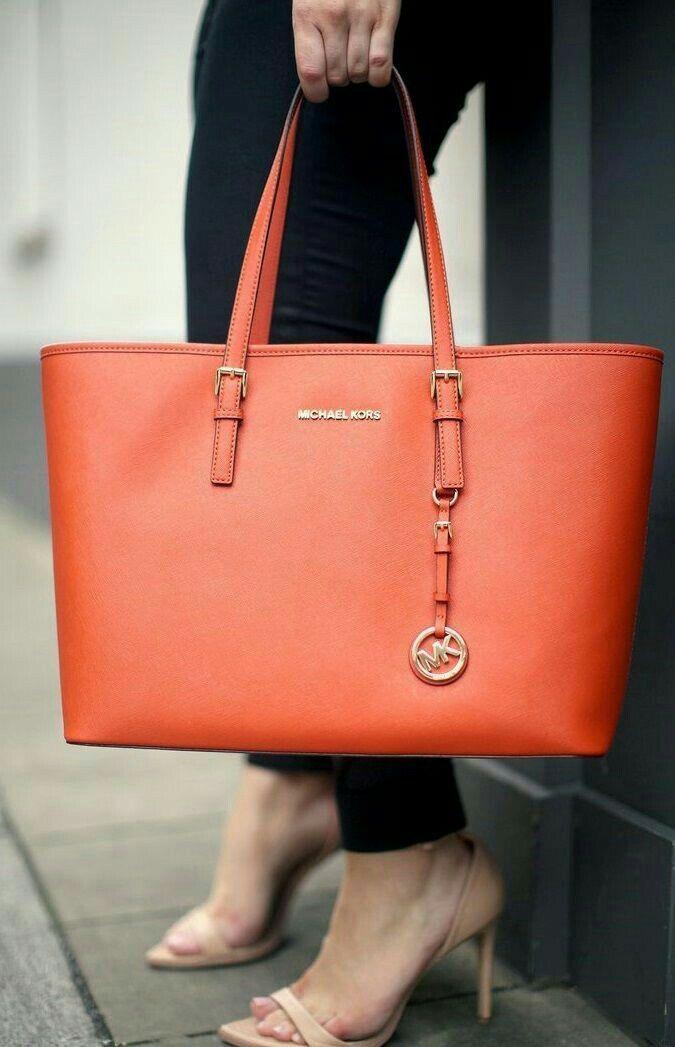 4f0ea240cb Orange MK bag