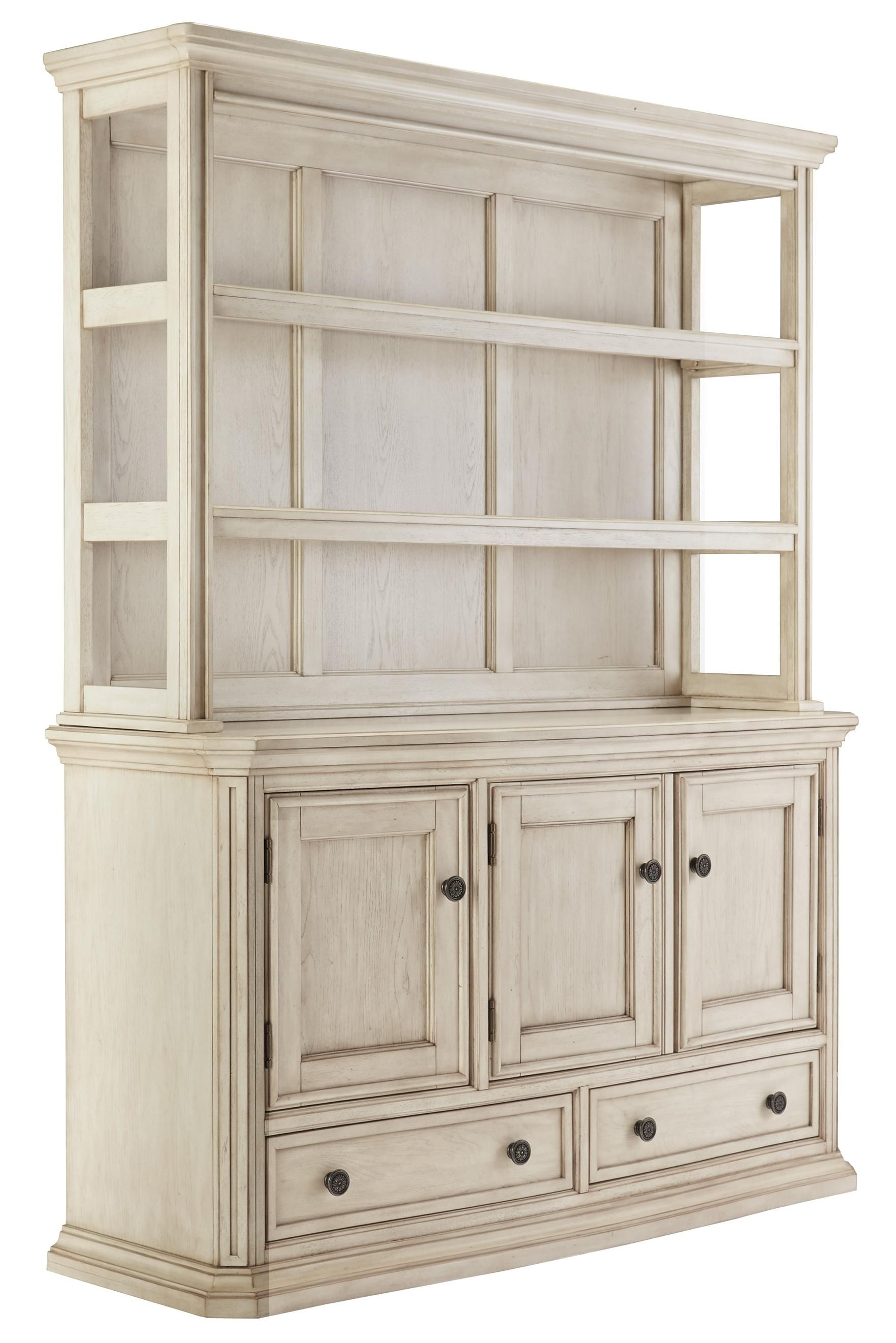 Signature Design By Ashley Demarlos Transitional Dining Room Server U0026 Hutch    Furniture Fair   North Carolina   Serving Table Jacksonville, Greenville,  ...