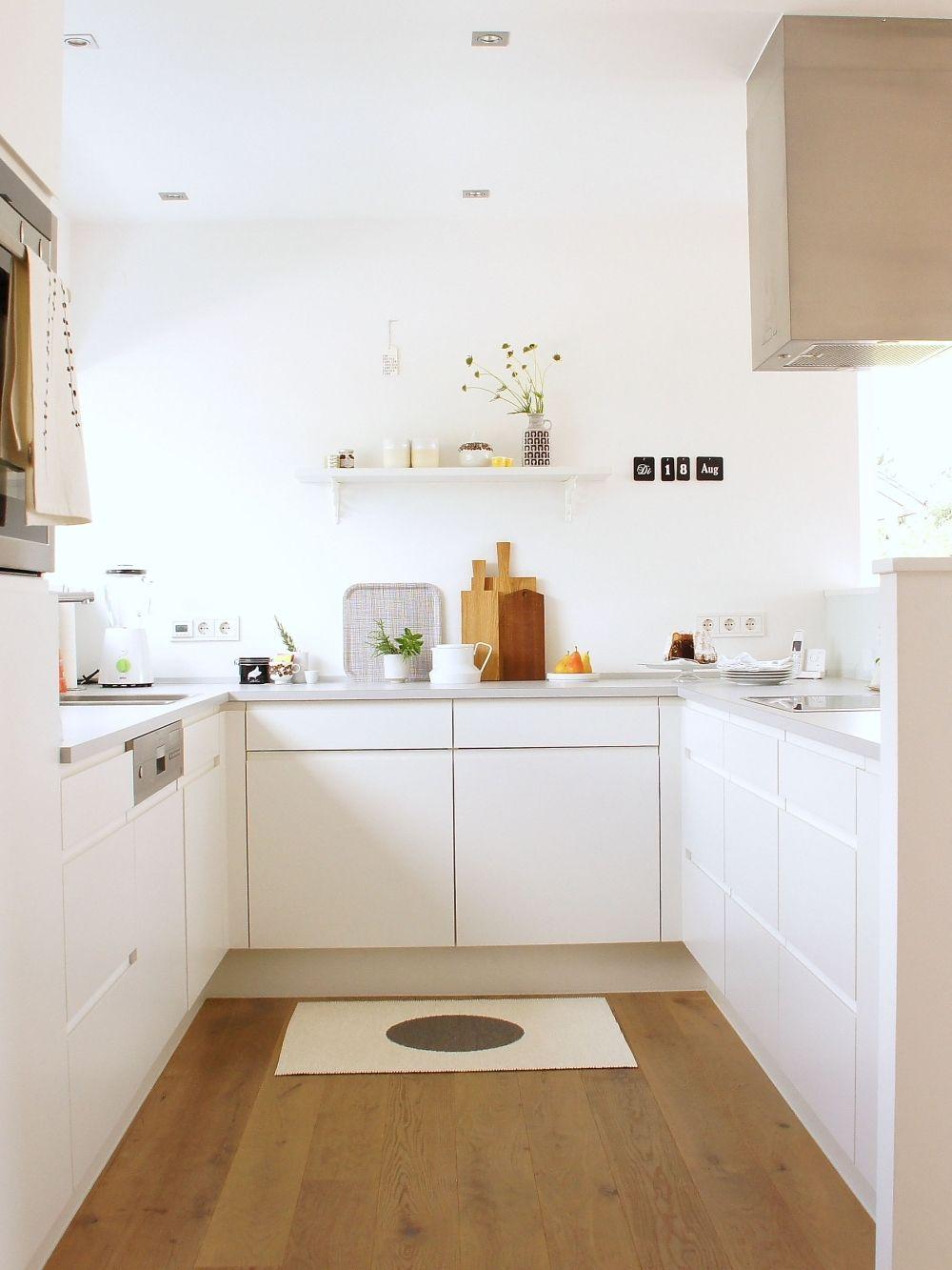 Homestory & Interview mit eine Küche ganz in Weiß - Sabine von ...
