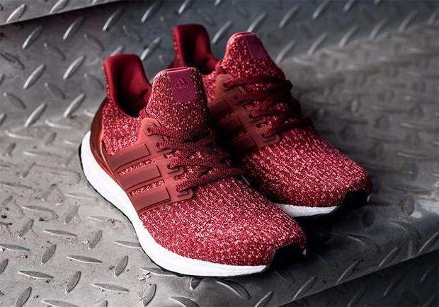 Adidas Ultra Boost Burgundy Mystery Red