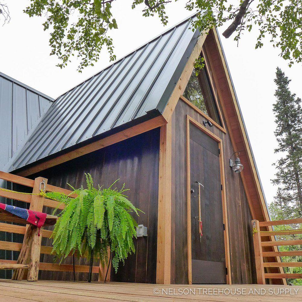 Alaskan Mountain Treehouse