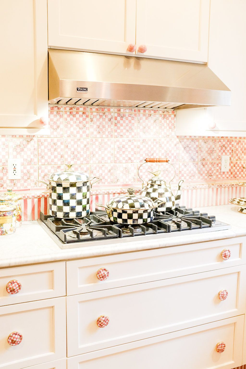 The Tour Of The Mackenzie Childs Farmhouse Featuring The Kitchen Chronicles Of Frivolity Mackenzie Childs Kitchen Backsplash Designs Mckenzie And Childs