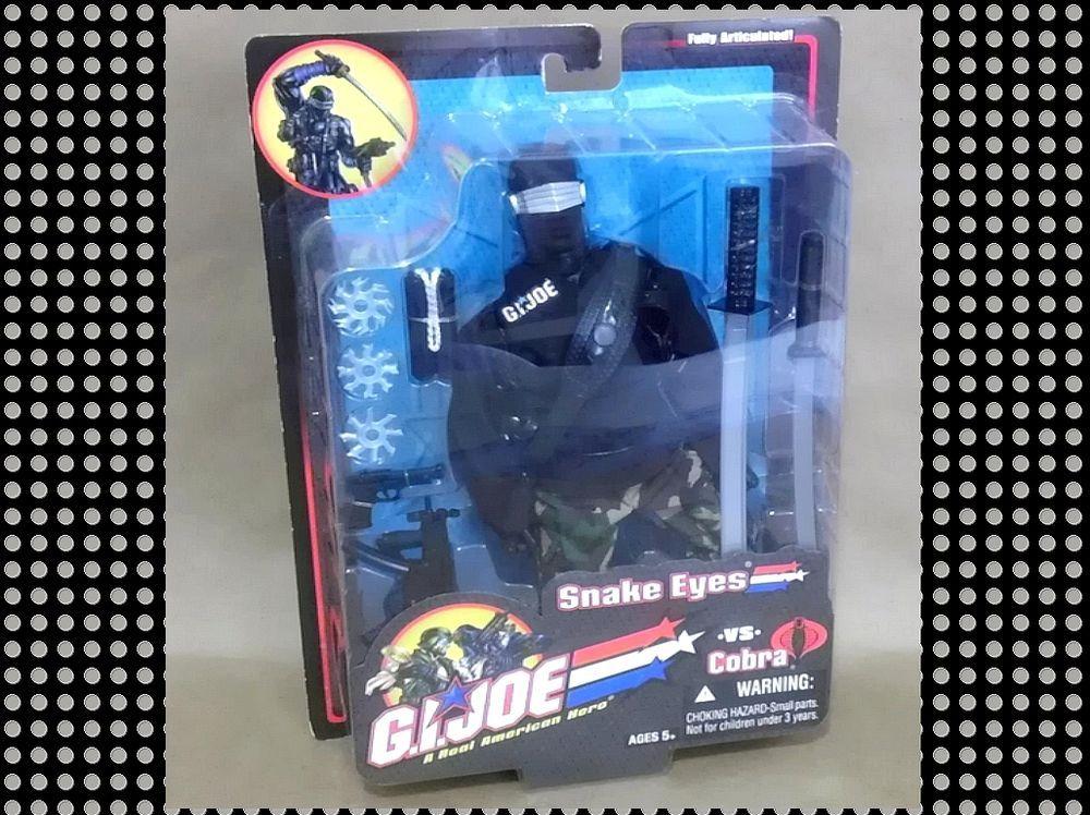 G.I. JOE 2003 12'' Snake Eyes (MISP) #GIJoe #SnakeEyes