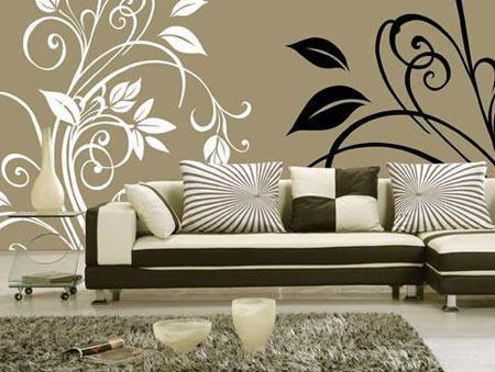 ورق حائط مودرن ديكورات جدران والوان حوائط ميكساتك Decor Home Decor Decals Home Decor