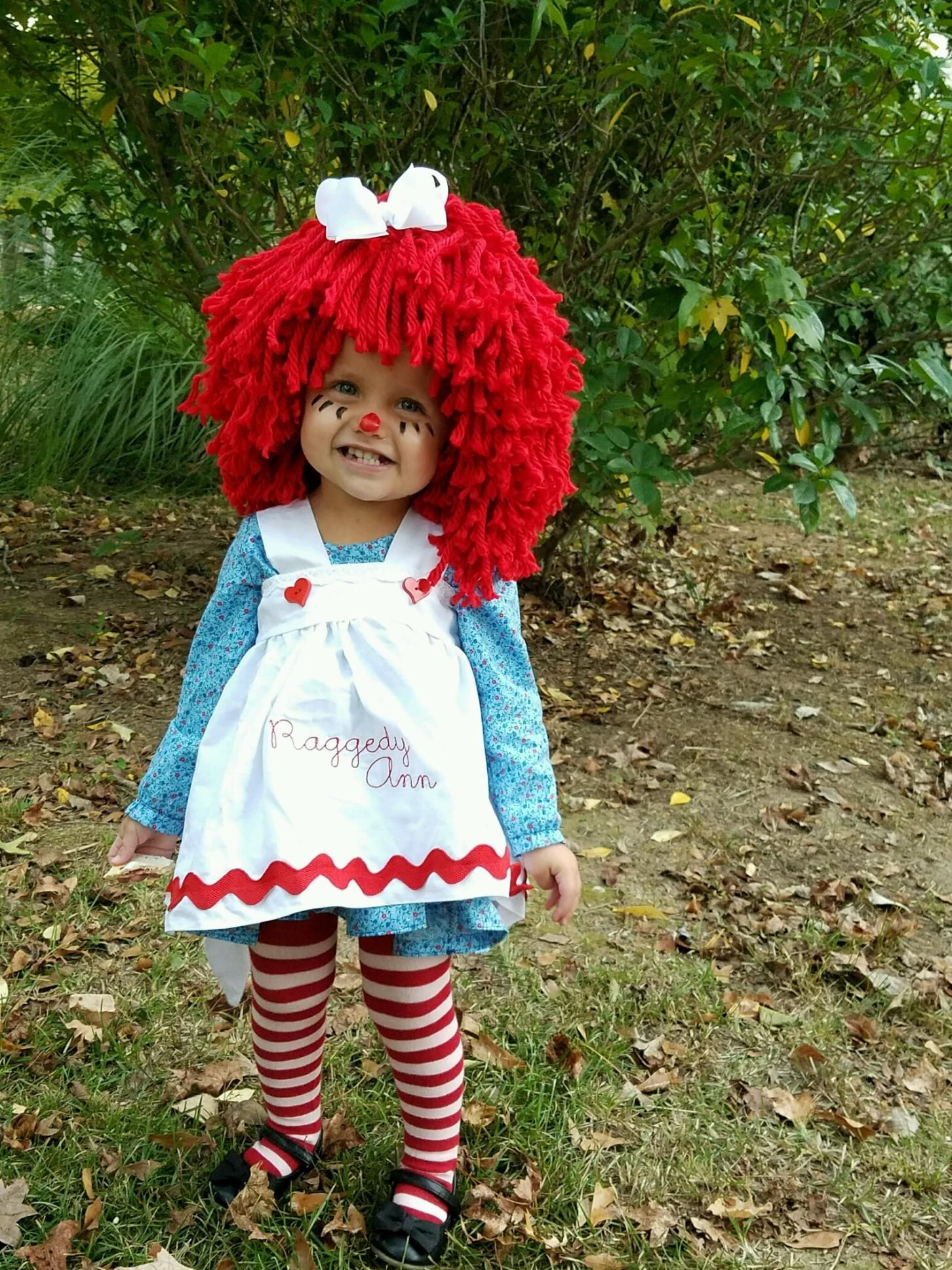Unique Halloween Costume Ideas For Toddler Girl.Baby Girl Halloween Costume Idea Toddler Raggedy Ann Family