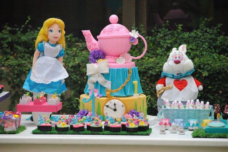 Dicas Para Festa Infantil Alice No Pais Das Maravilhas Dicas