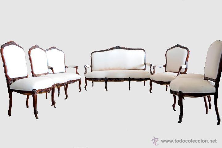 Estrado isabelino muebles antiguos en todocoleccion for Cosas de casa muebles