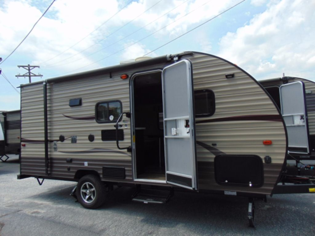 Used 2016 Forest River Rv Cherokee Wolf Pup 16bhs Travel Trailer