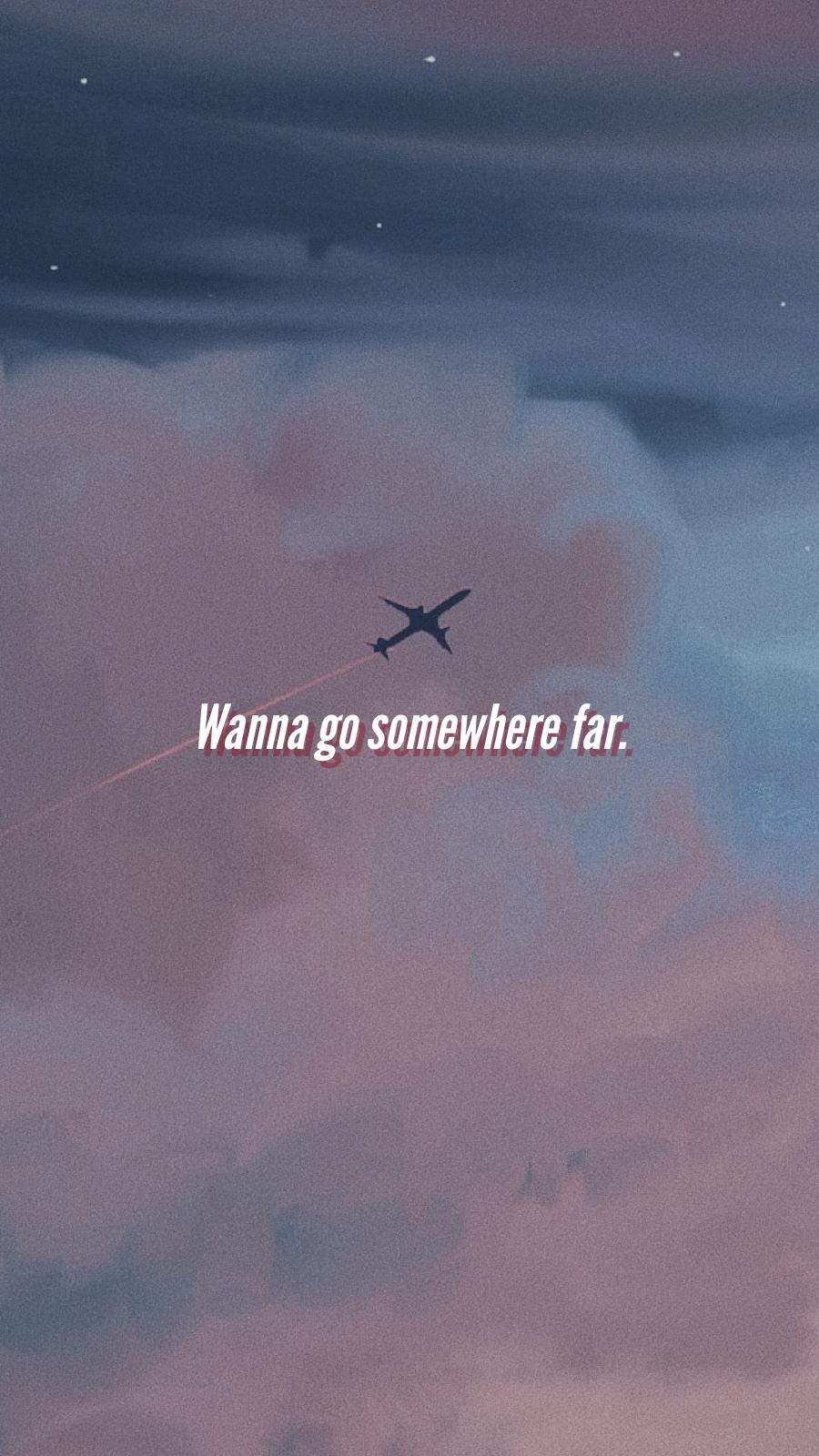 Plane Travel Phonewallpaper Aesthetic Words Aesthetic Pastel Wallpaper Wallpaper Quotes
