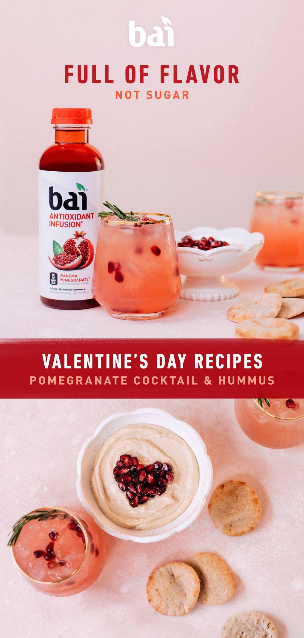 Bai Valentine S Day Recipes In 2020 Recipes Alcohol Recipes Food Processor Recipes