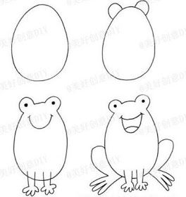 Dibuja Paso A Paso Un Pinguino Como Hacer Dibujo De Un Gatito Como