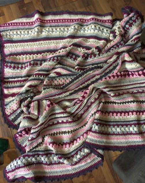 Bildergalerie der Crochet Along Babydecken | Stricken häkeln ...