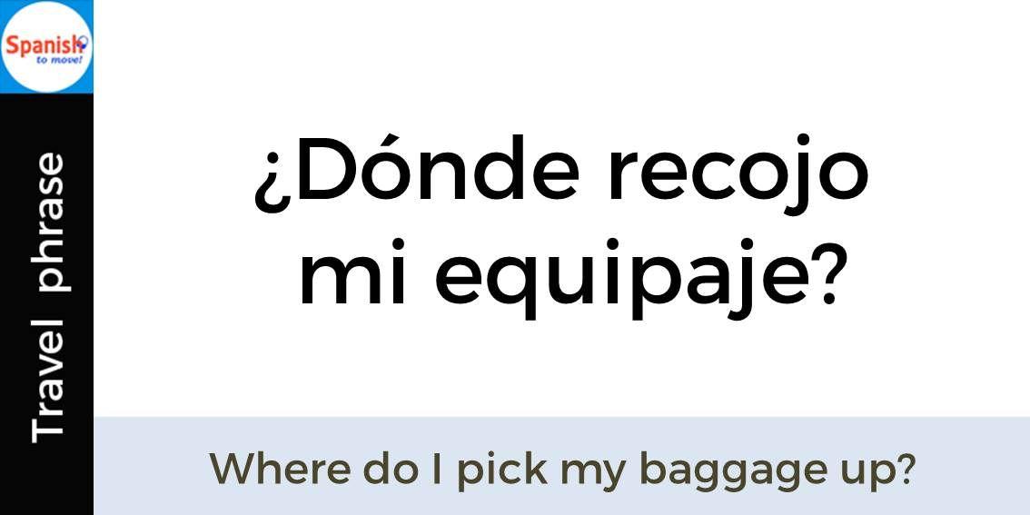 bagage på engelsk