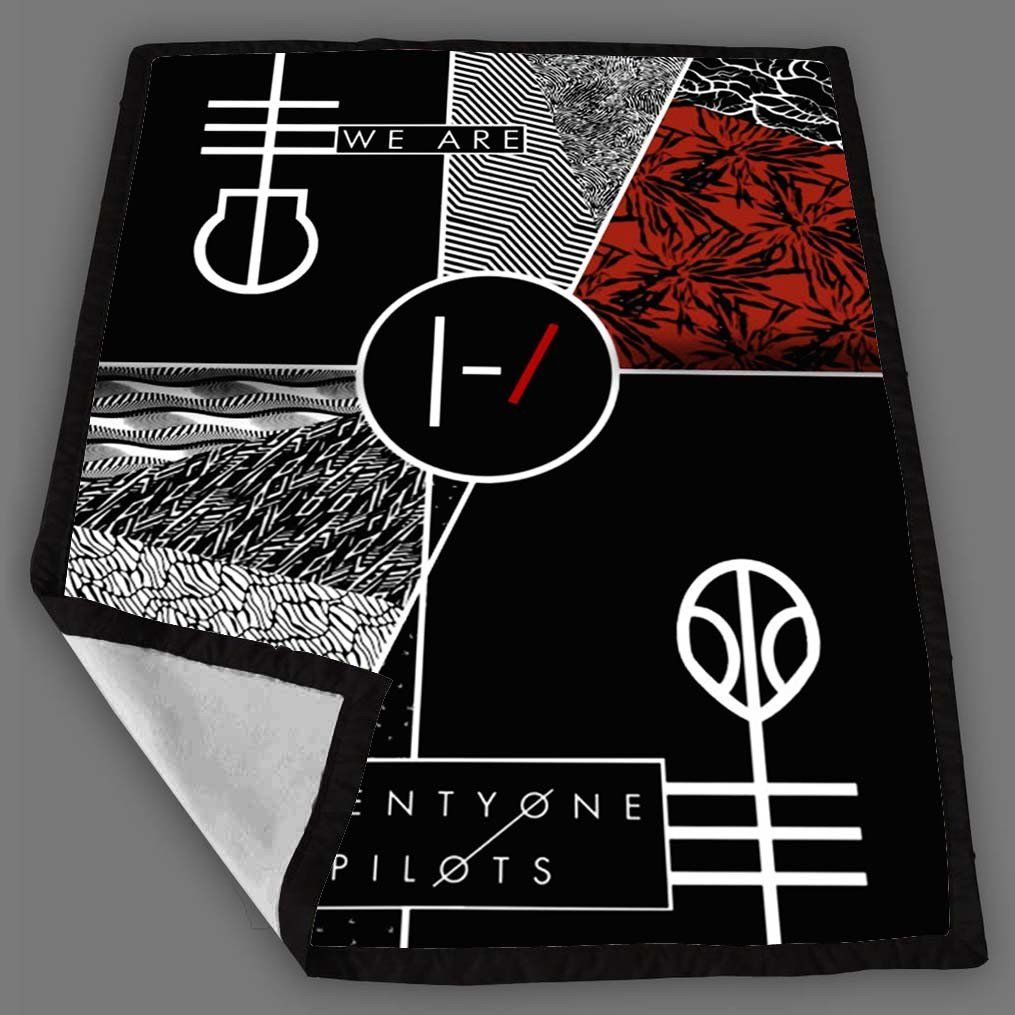Twenty One Pilots We Are Blanket Fleece Design Bedding