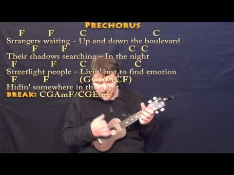 Dont Stop Believin Ukulele Cover Lesson In C With Chordslyrics