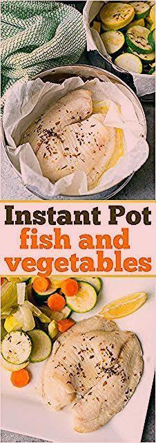 Instant Pot Fisch Amp Gem 252 Se Mit Bildern Fische Keto Instant Pot