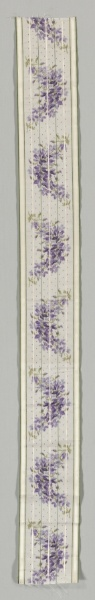 Ribbon France 19th century  | Cleveland Museum of Art