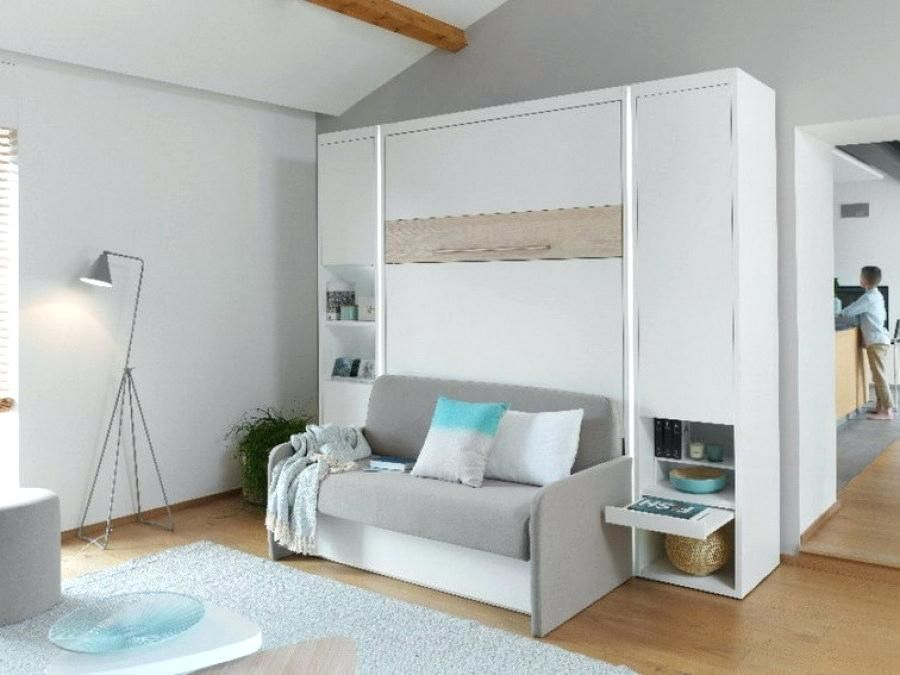 Lit Armoire Escamotable Lit Escamotable Electrique 2 Personnes Armoire 1 Personne Bedroom Design Furniture Loft Bed