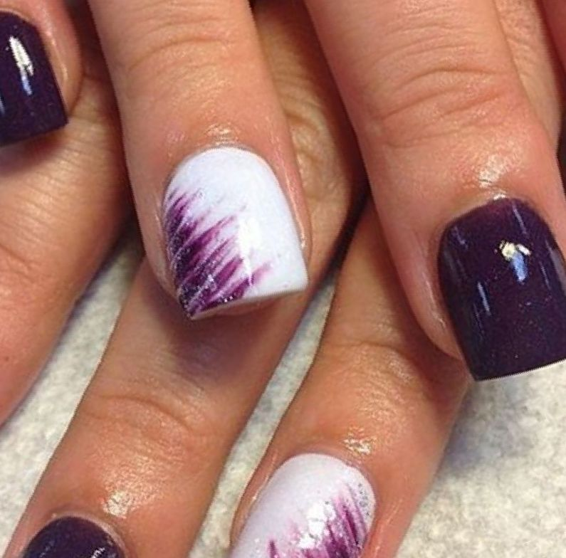 Nail Designs With Purple Better Choice 2017 Nails Pinterest