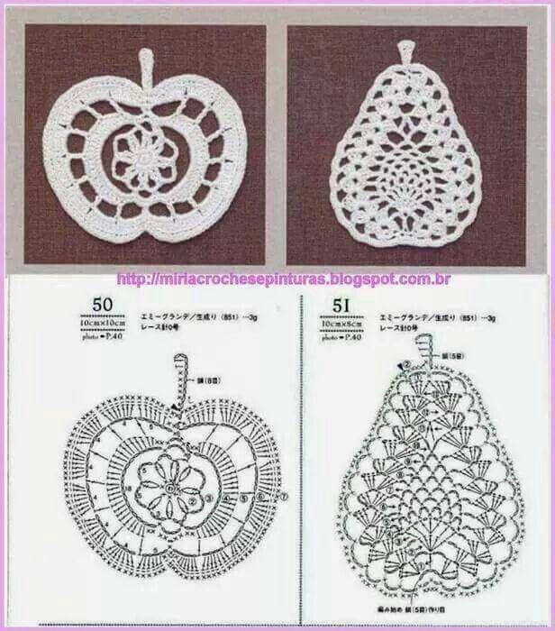 Manzana pera | crochet | Pinterest | Decken und Applikationen