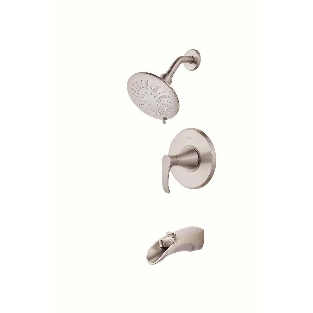 Pfister Brea Singlehandle 3Spray Tub And Shower Faucet In Stunning Pfister Bathroom Faucet Design Inspiration