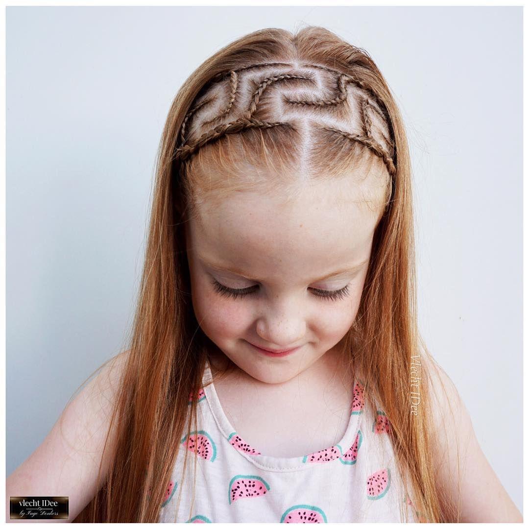 Cool summerhair with greekpattern in a braidedheadband i