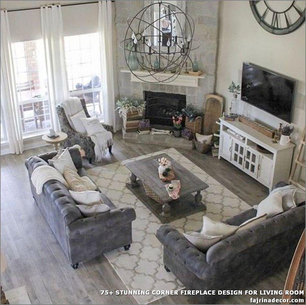 75 Stunning Corner Fireplace Design For Living Room Living Room Furniture Layout Livingroom Layout Furniture Design Living Room