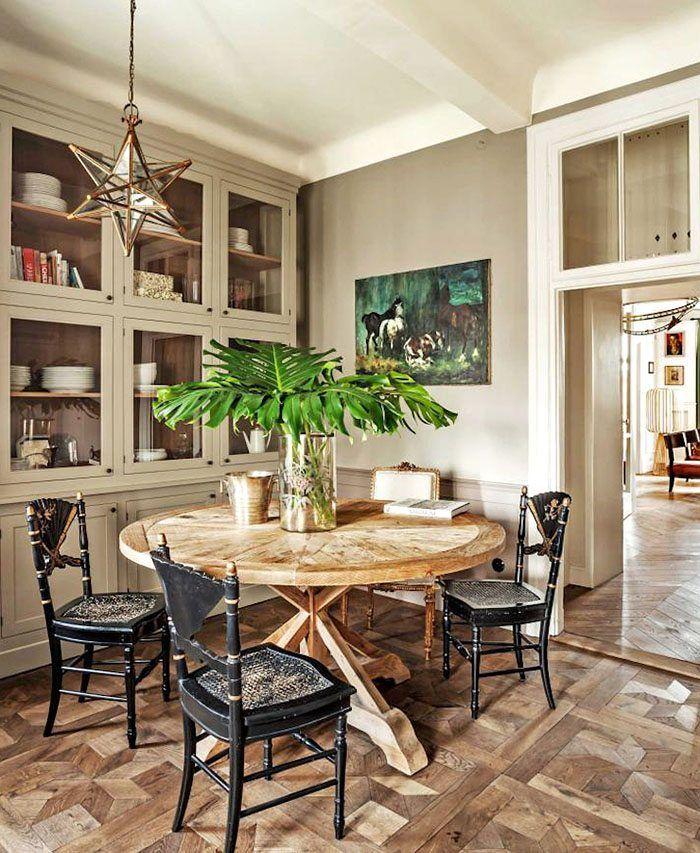 Un apartamento de estilo francés que te encantará ...