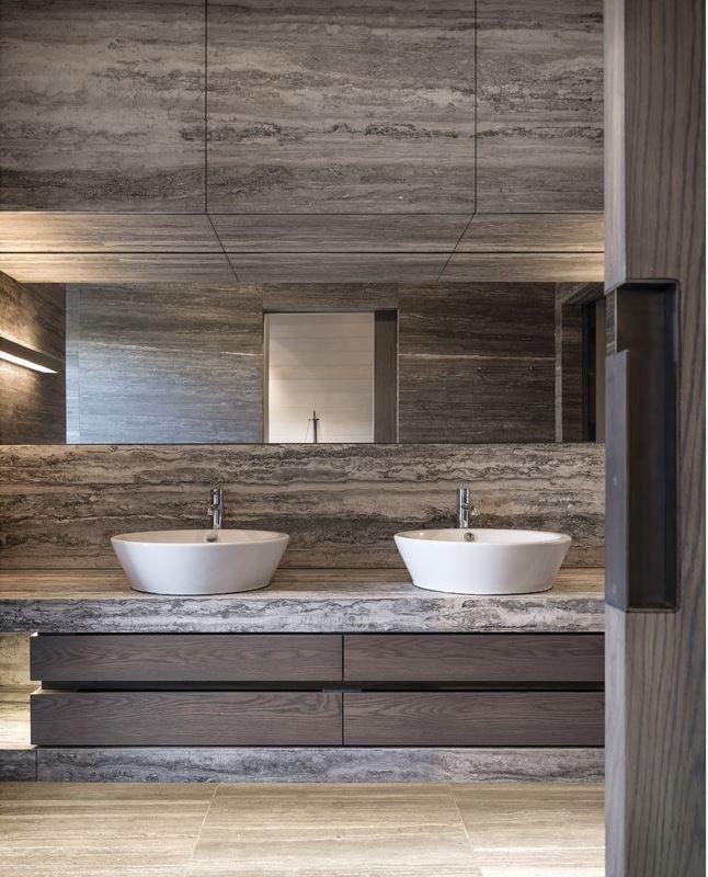 House & Homme  Modern Summer Lodge Vibes From Seattle Designer Classy Bathroom Design Seattle Inspiration Design