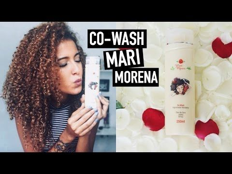 Co-wash Higienizador Hidratante Mari Morena Resenha | Mari Morena - YouTube