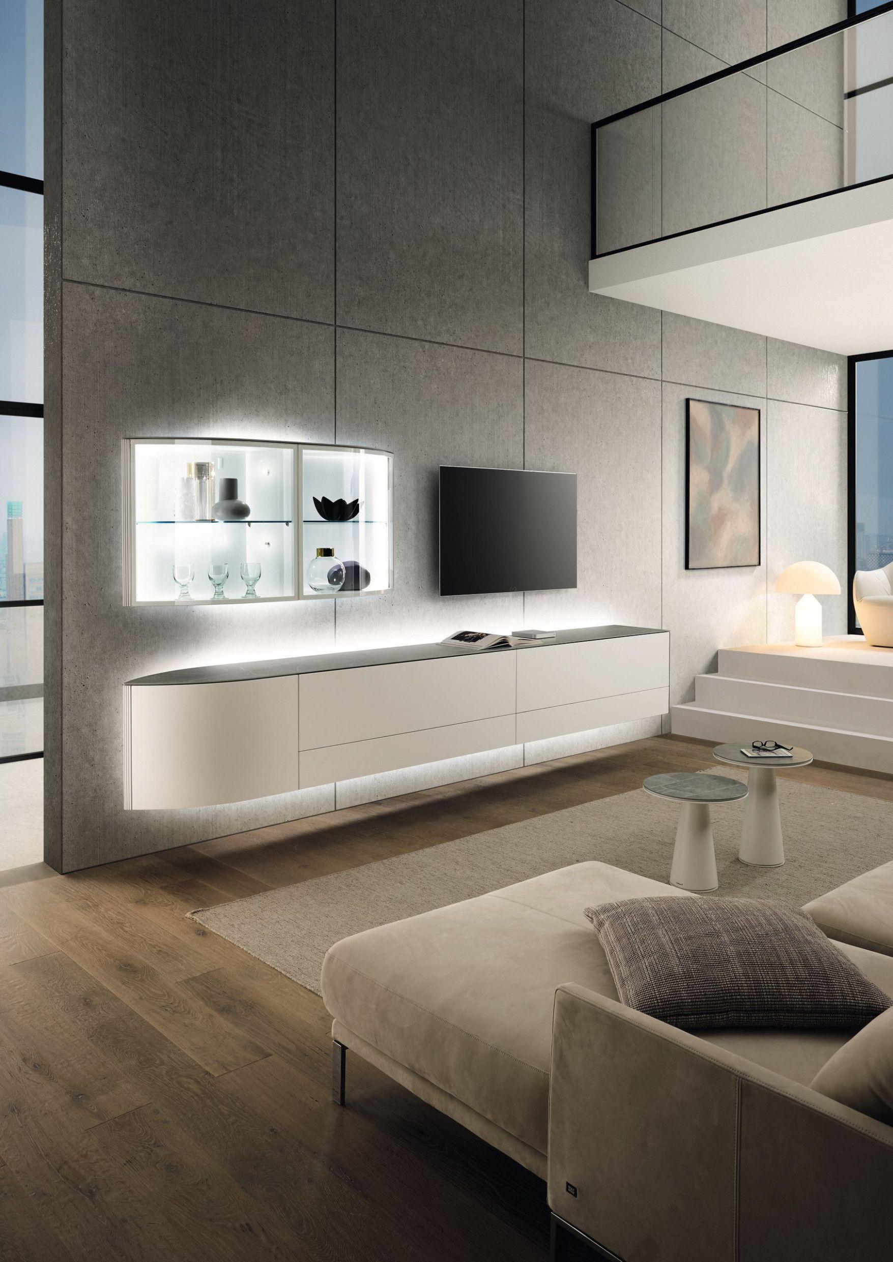 8 Hülsta Wohnzimmer Schrank in 8  Wohnwand modern, Hülsta