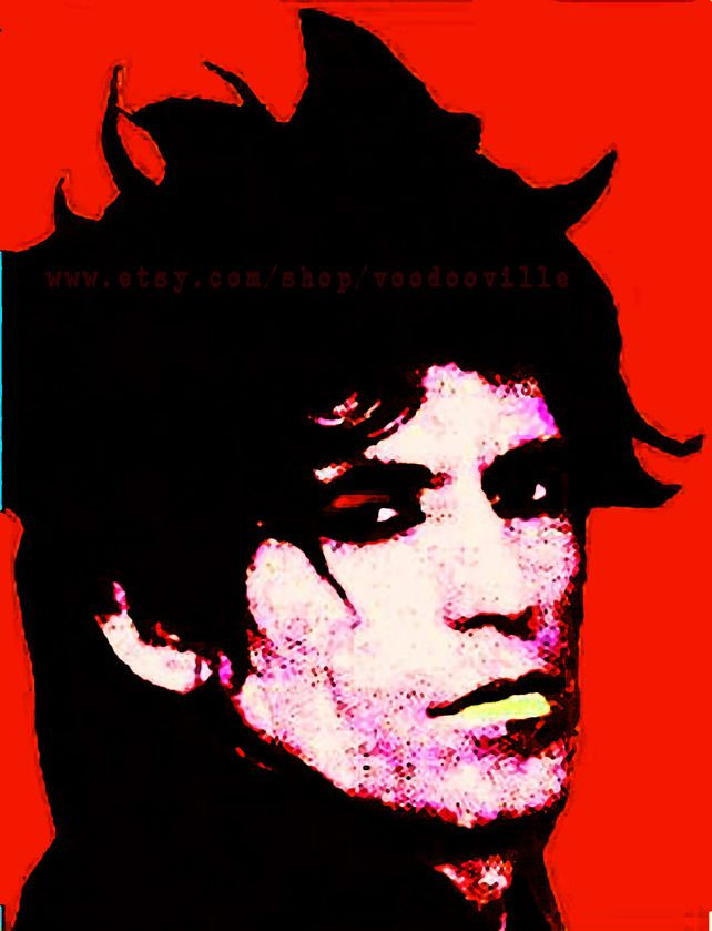 keith richards andy warhol art art pop art. Black Bedroom Furniture Sets. Home Design Ideas