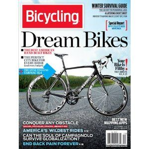 Subscription To Bicycle Magazine I Have Cards That You Can Get