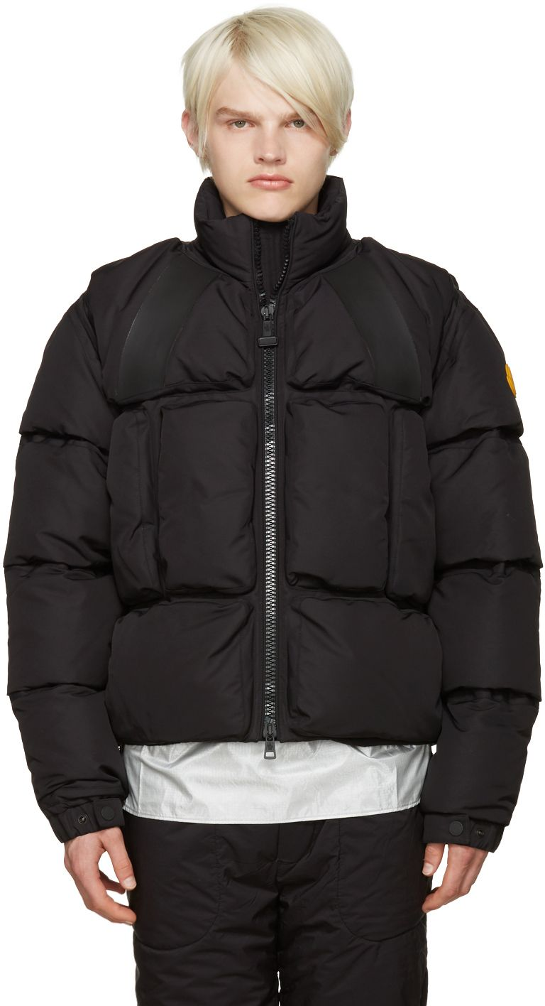 Moncler O Black Trouville Jacket