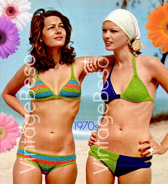 Crochet swimsuit - bikini. Description of the swimsuit, knitting pattern and pattern